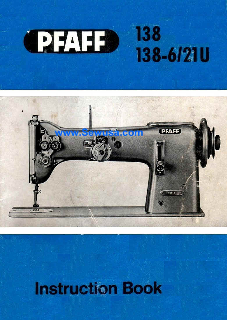 Pfaff 138 138-6 Instruction Manual, wpe15E.jpg (81356 bytes)