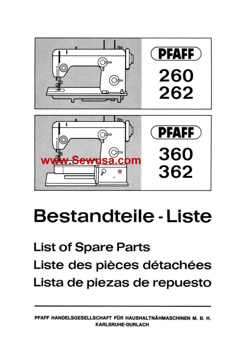 pfaff sewing machine service and parts manuals rh pfaffmanuals com Pfaff 360 Sewing Machine Manual Pfaff 360 Sewing Machine Manual